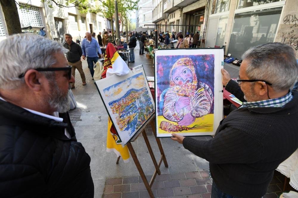 Feria de antigüedades en Pontevedra | Lo antiguo nunca pasa de moda