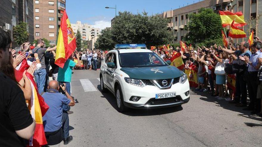 Continúan en Catalunya los agentes enviados desde Castellón para el 1-O