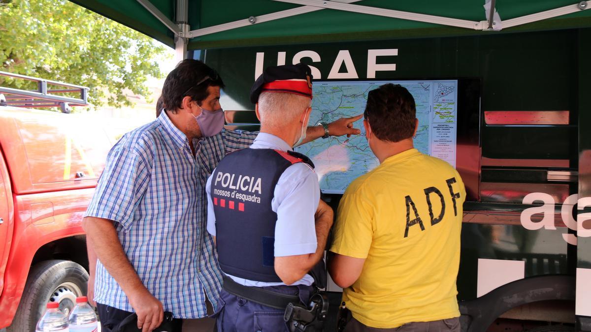 Els Agents Rurals alerten de l'alt risc d'incendi forestal a l'Alt Empordà.