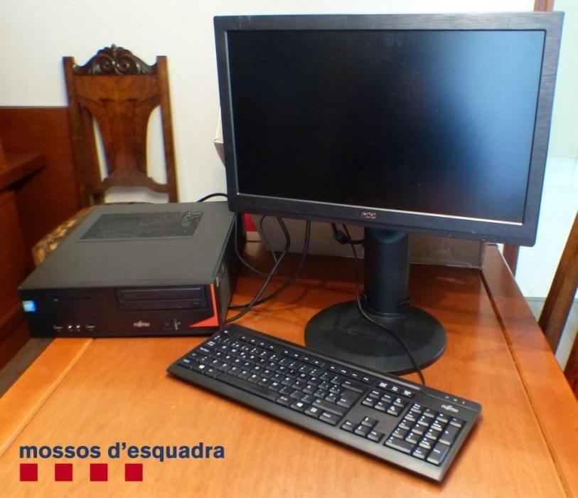 Els objectes robats a Santa Pau que han estat recuperats pels Mossos