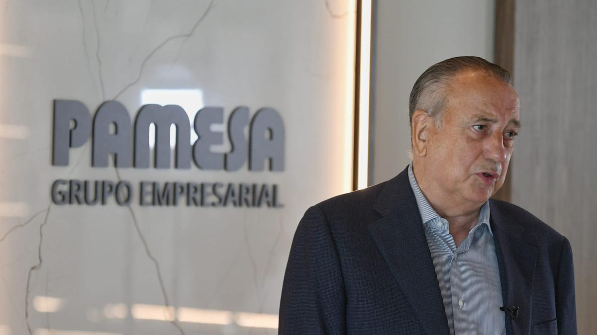 Fernando Roig, durante la rueda de prensa.