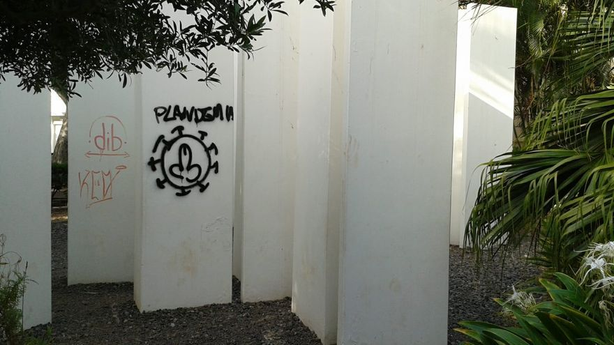 Continúa el vandalismo contra el patrimonio cultural de Santa Cruz