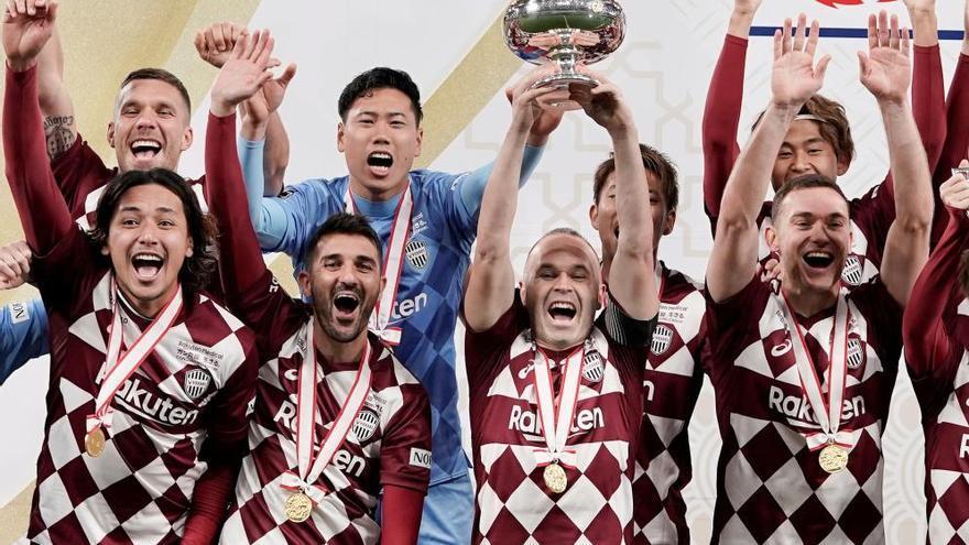 David Villa termina su carrera sumando un nuevo título
