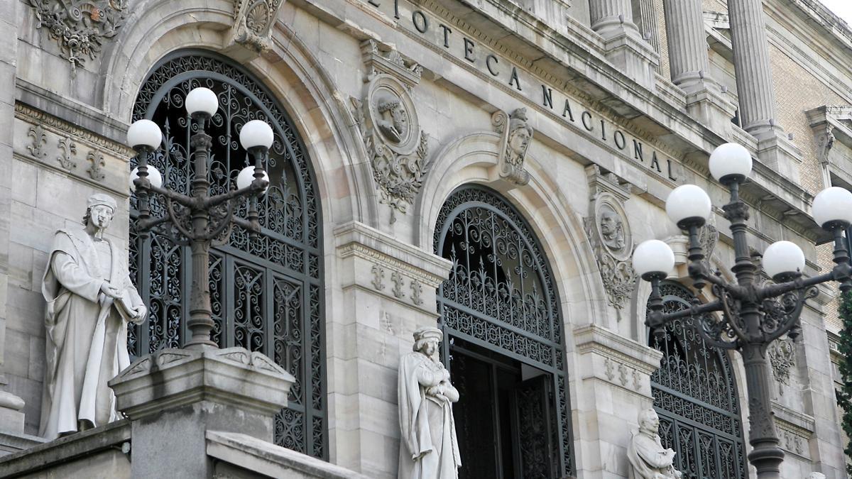 La Biblioteca Nacional.