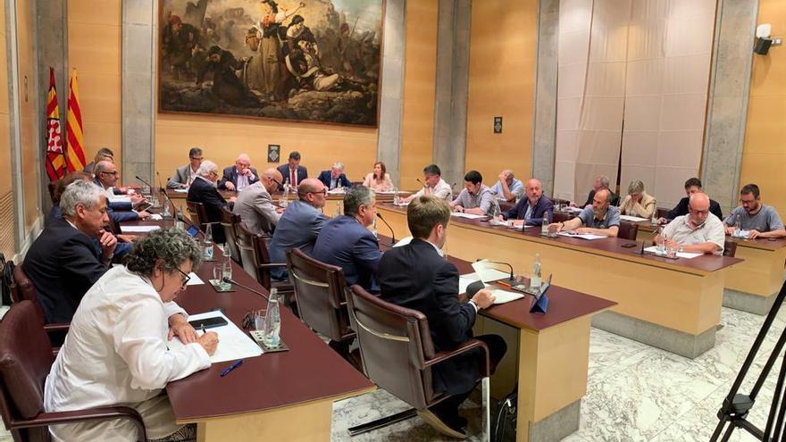 La Diputació de Girona tanca legislatura amb la negociació oberta per configurar nou equip de govern