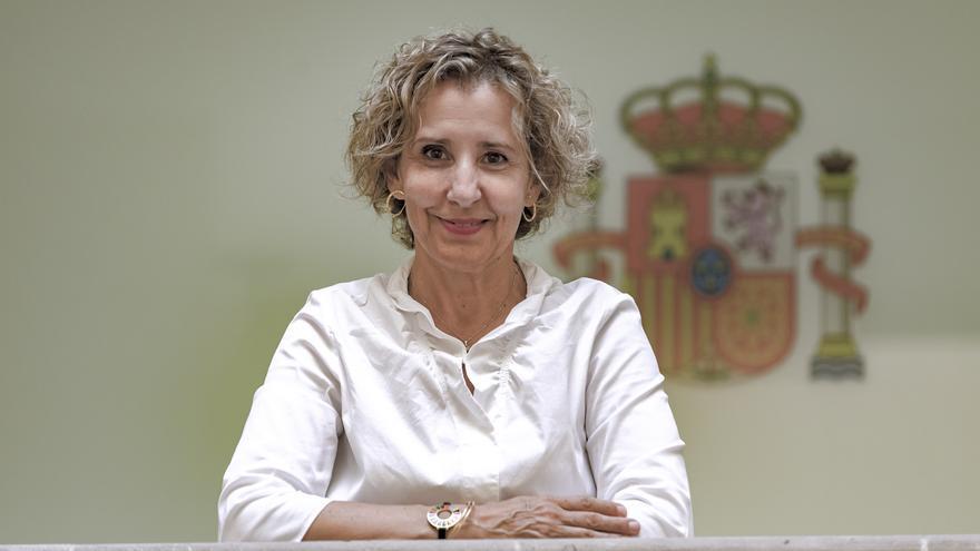 """Aina Calvo: """"Baleares  se ha convertido  en una estación  de tránsitos para  la migración"""""""