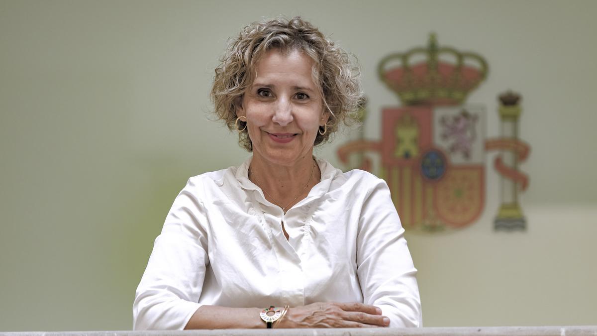 La delegada del Gobierno Aina Calvo.