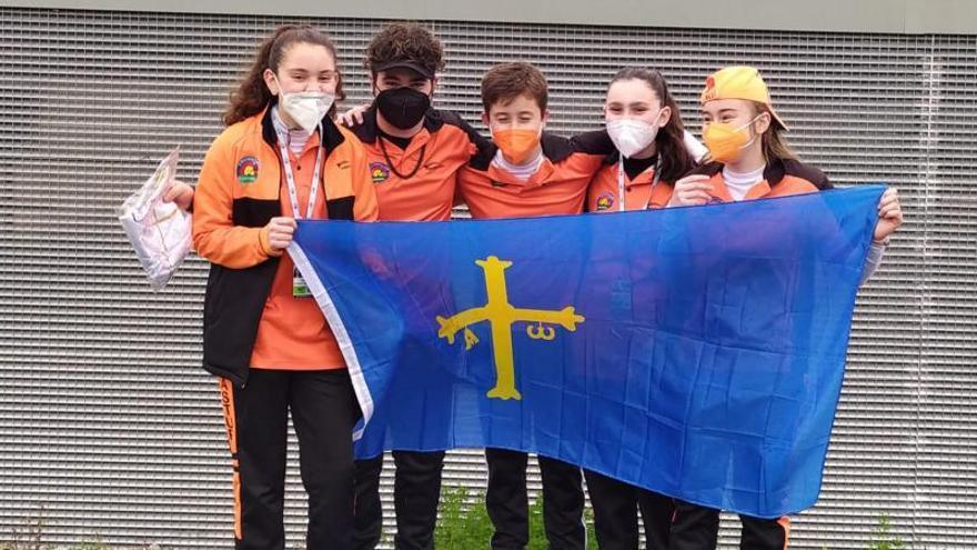 Tiro con arco: dos victorias para Asturias en la liga nacional de cadetes y menores