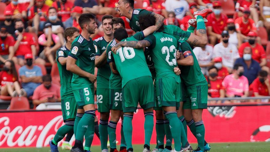 El Osasuna gana en Mallorca y sigue invicto fuera de casa