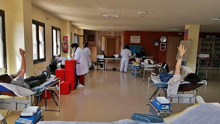 La jornada de donació de sang de Sant Llorenç de Morunys acumula 41 donants