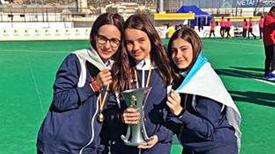 Galicia se proclama campeona de España en infantil femenino