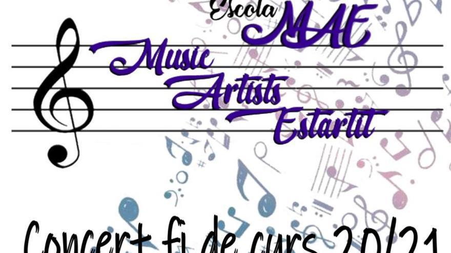 Concert de fi de curs Escola MAE - Music Artists Estartit