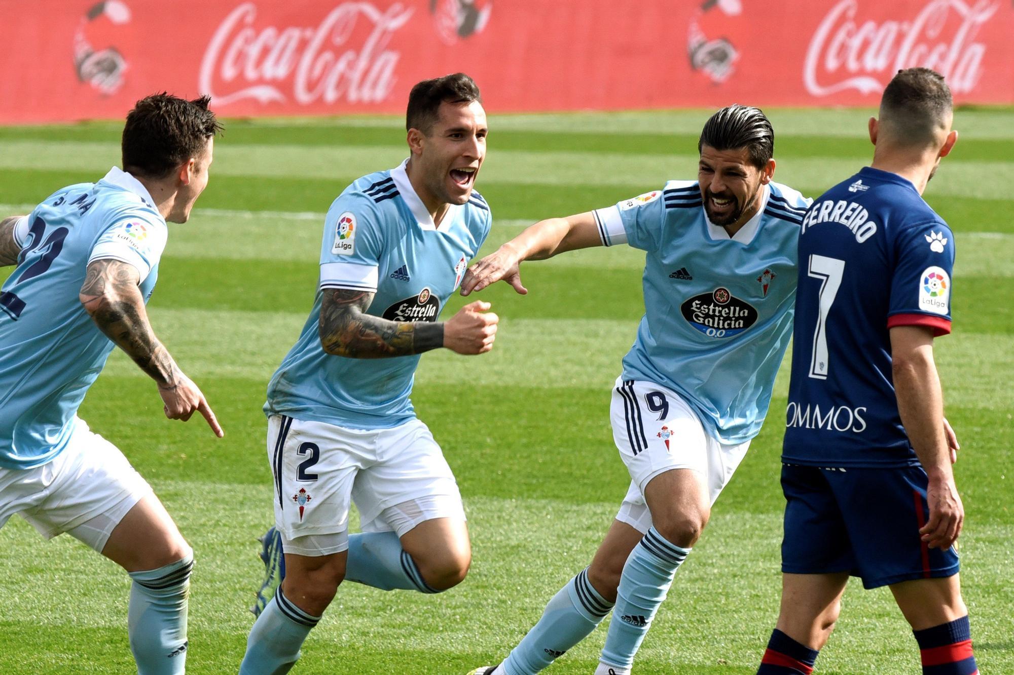 Las mejores imágenes del Huesca - Celta de Vigo