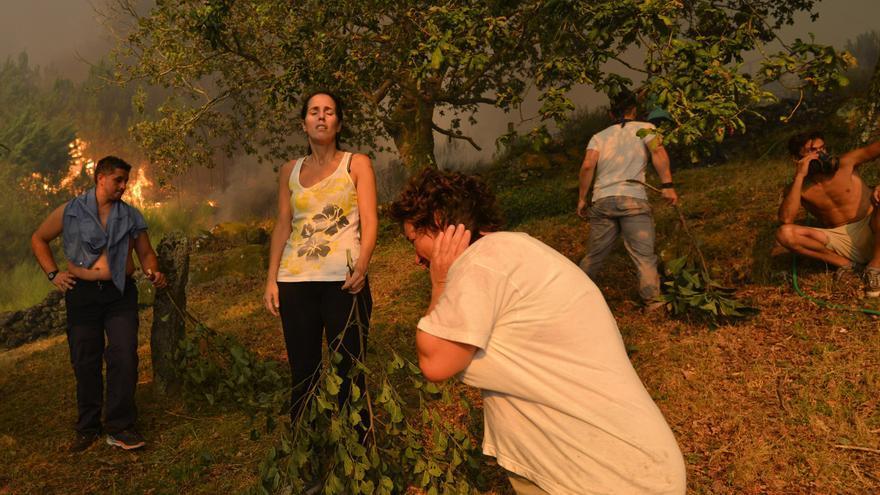Una vecina de Pontesampaio admite ser la autora de 7 incendios forestales en 2016