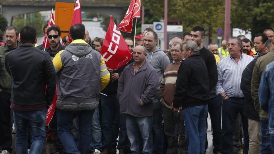 Los trabajadores de las auxiliares de Arcelor, llamados a la huelga