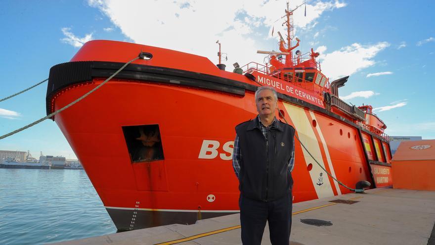El vídeo de Frontex de un barco nodriza con migrantes no se grabó en España