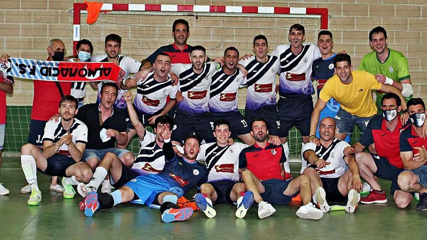 El Almonacid Solceq FS, campeón de Tercera División
