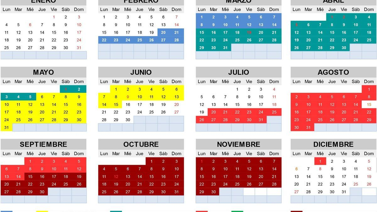 Calendario fiscal local de Jumilla