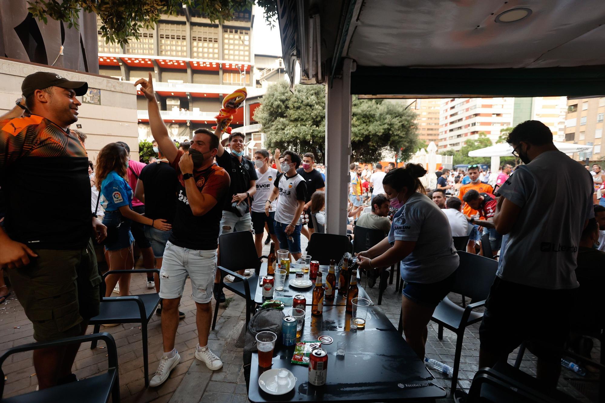 Vuelve el ambiente a Mestalla