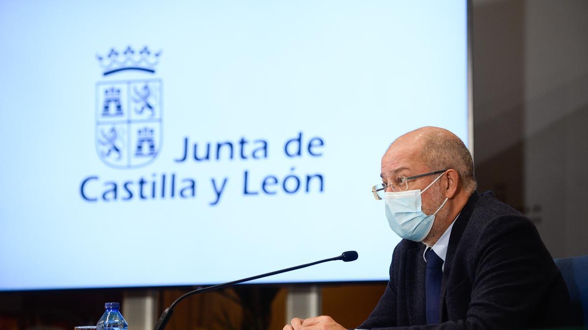 El vicepresidente, portavoz y consejero de Transparencia, Ordenación del Territorio y Acción Exterior, Francisco Igea.