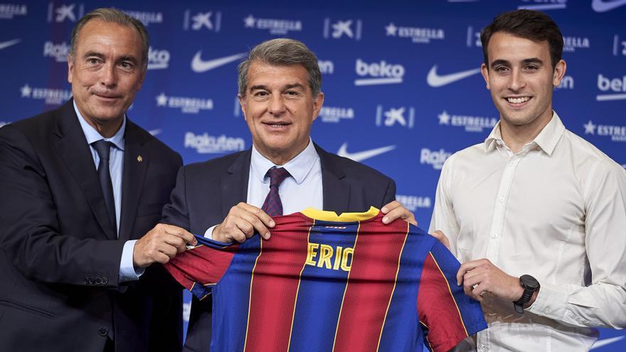 """Eric García: """"Espero quitarme la espina de la Champions con el club de mis sueños"""""""