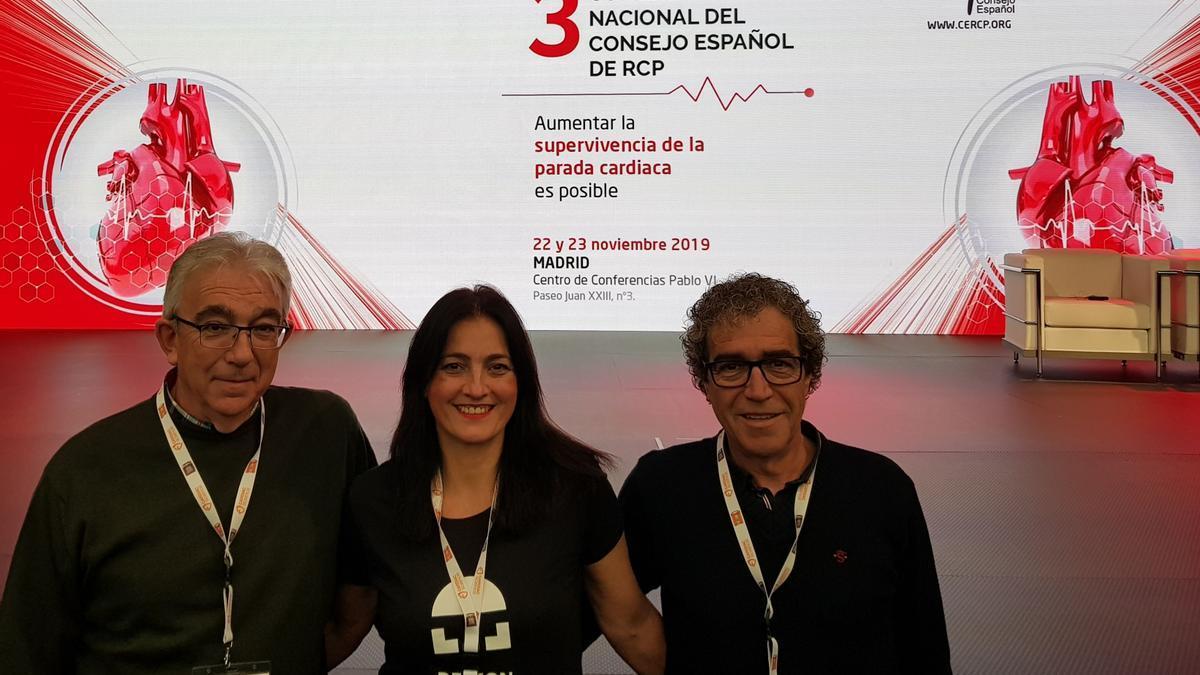 El proyecto CS 112 Ceramic Beats se presentó en el Tercer Congreso Nacional del Consejo Español de Reanimación Cardiopulmonar (CERCP).