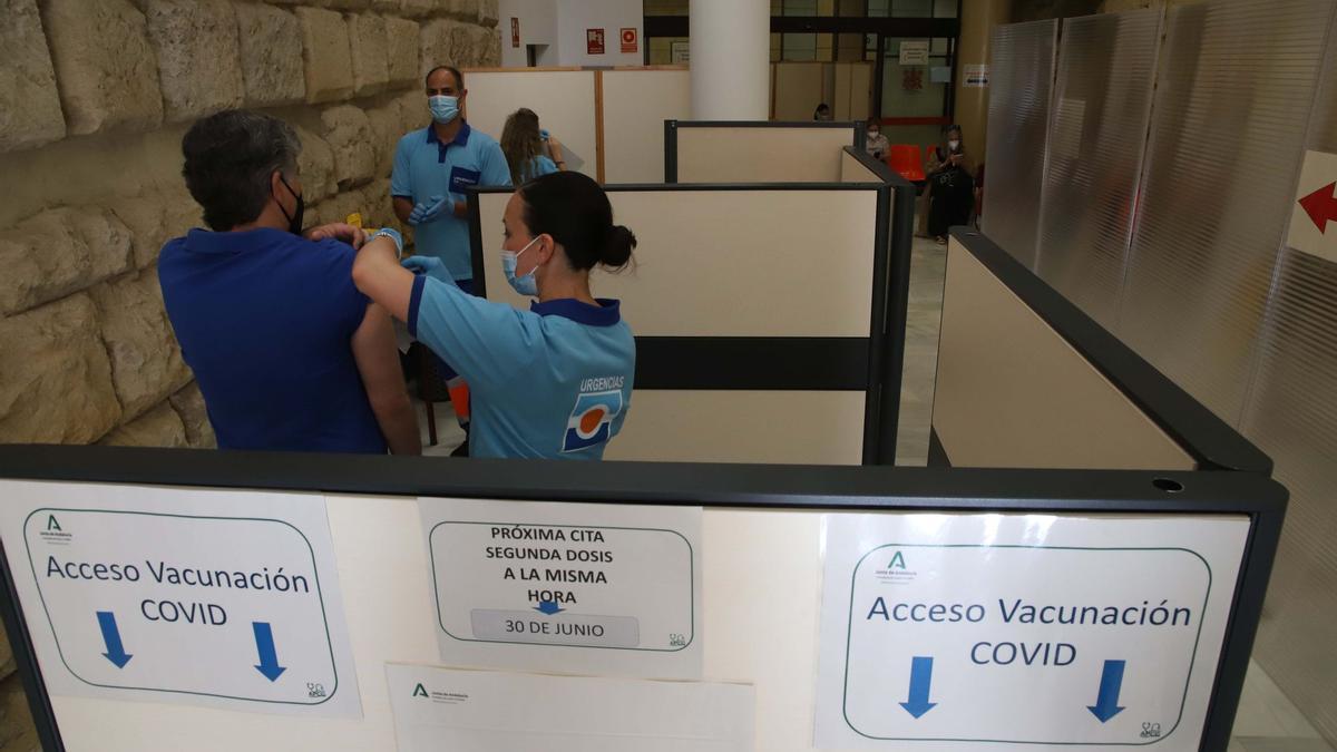 Vacunación contra el covid.