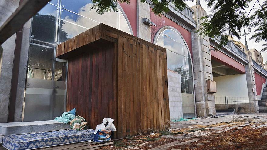 La capital iniciará el lunes la demolición del local abandonado Arcos de La Noria