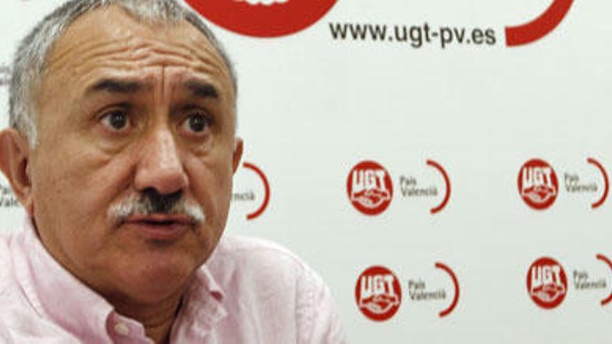 """Josep Maria Álvarez: """"El desempleo y la corrupción han recortado la afiliación a los sindicatos"""""""