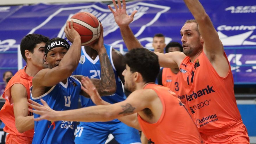 El Liberbank Oviedo Baloncesto gana en Melilla (72-80)