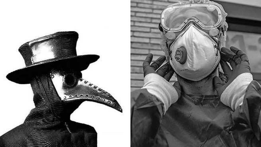 'La peste' de Camus, en tiempo real