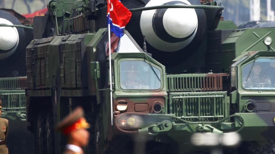 Corea del Norte construye nuevos misiles, según EEUU