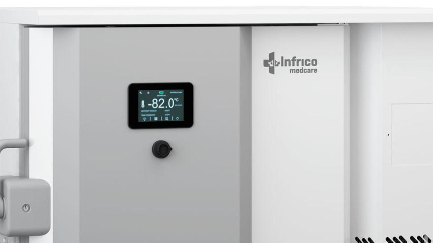 La Policlínica incorpora un congelador para conservar las vacunas contra el Covid-19