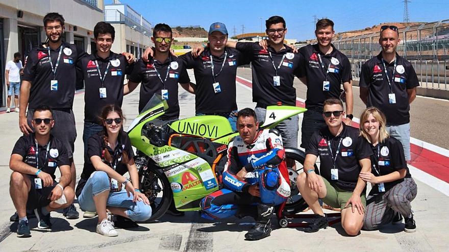 Universitarios sobre ruedas: así es el equipo de la Politécnica que construyó una moto de carreras