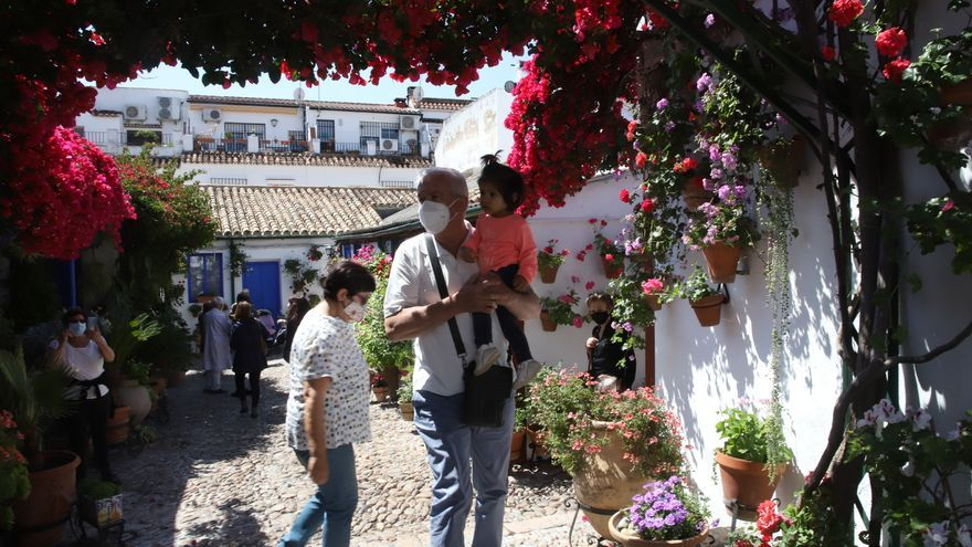 El primer sábado de los Patios de Córdoba se cierra con 39.655 visitas