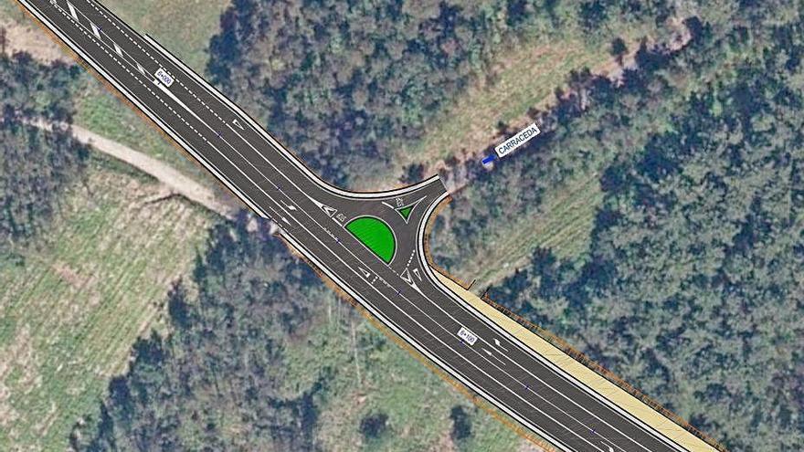 La Xunta aprueba los proyectos de la senda peatonal de Oza y de la semirrotonda