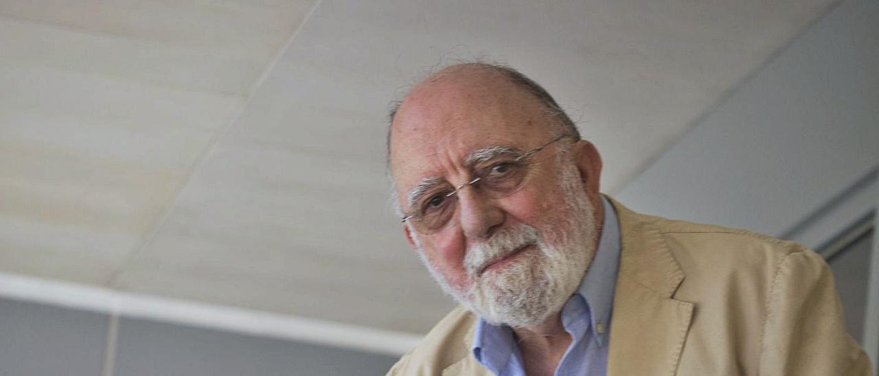 Antonio García Miralles, en las instalaciones de INFORMACIÓN.   