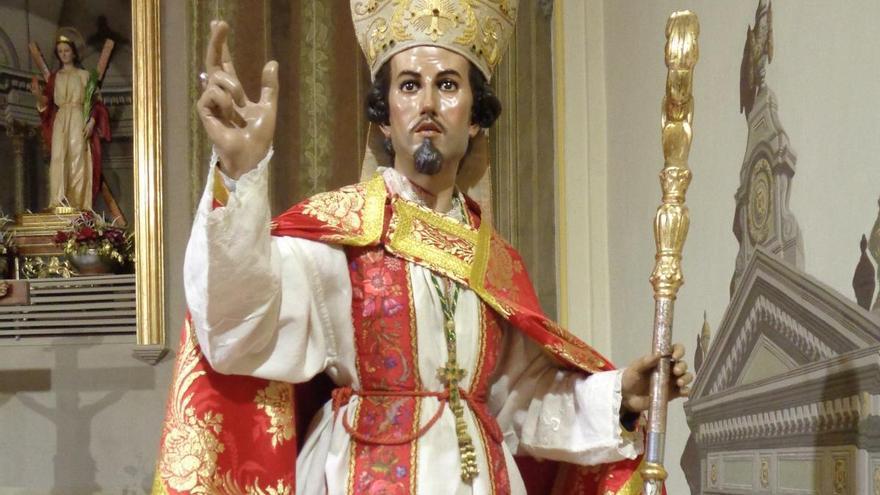 Las fiestas de Santa Eulalia, este año sin procesión ni rollicos por culpa de la covid