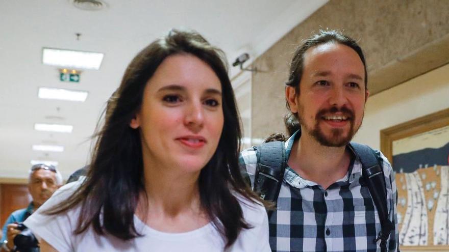 Iglesias y Montero suspenden su agenda por el ingreso hospitalario de sus gemelos