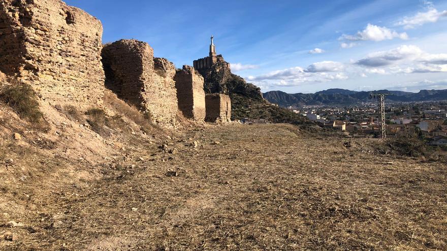Expropian 61.945 metros para ampliar la zona del Castillo de Monteagudo