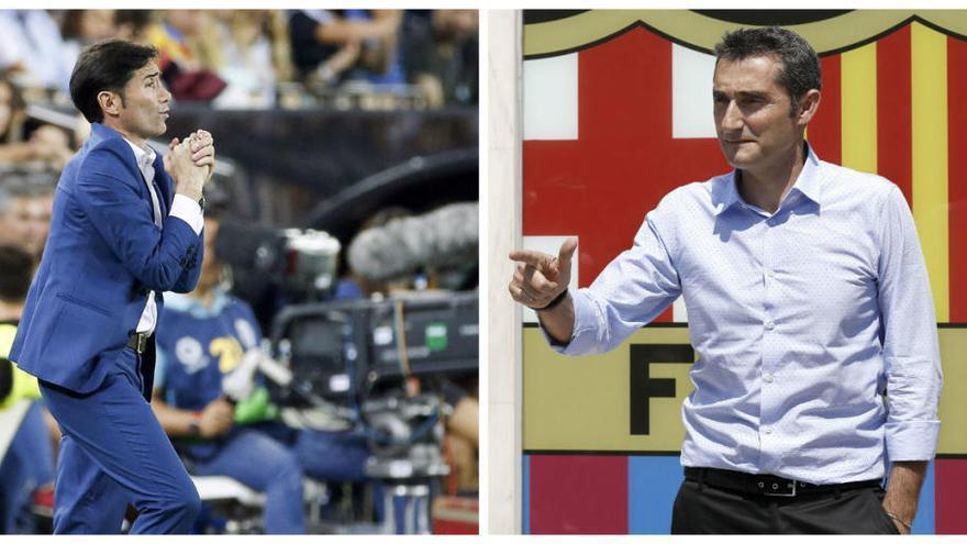 Marcelino-Valverde: Duelo entre los mejores estrategas