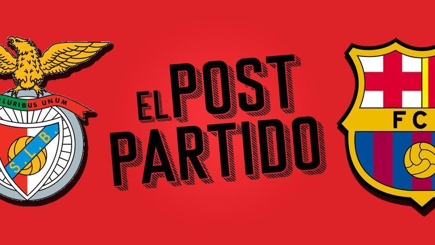 El post partido del Benfica - Barça: otra nueva caída al precipicio europeo