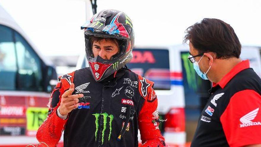 Triunfo y liderato de Barreda en motos en la segunda etapa del Dakar