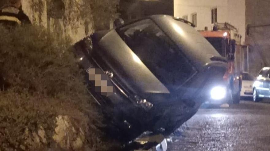 Aparatoso accidente en Pedro Hidalgo