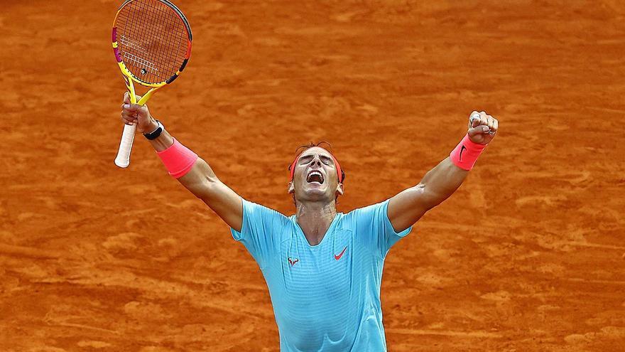 Nadal impone la ley del campeón y jugará su decimotercera final en París
