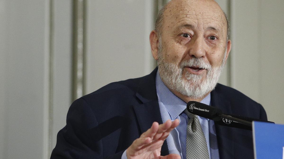 The president of the Center for Sociological Research (CIS), José Félix Tezanos.