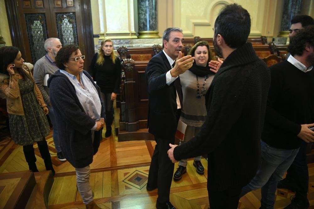 Pleno extraordinario en A Coruña (26/11/18)