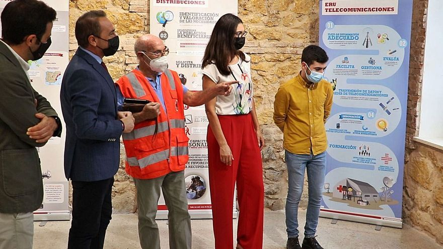Los recursos de Cruz Roja, a exposición