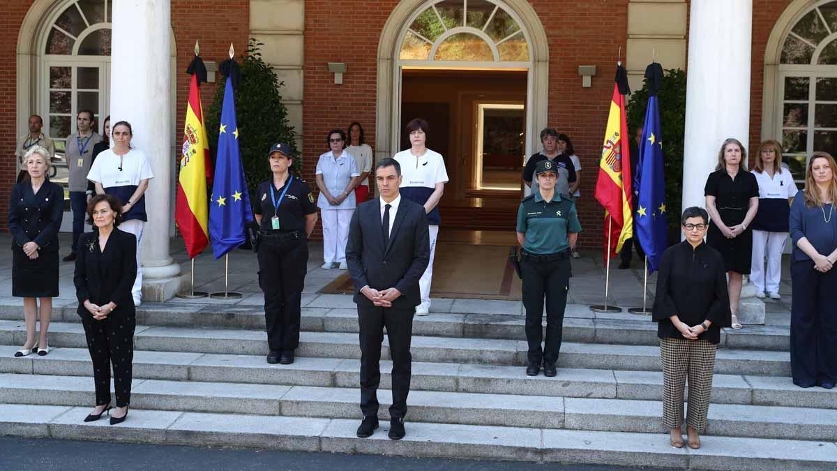 Minuto de silencio en toda España por las víctimas del coronavirus