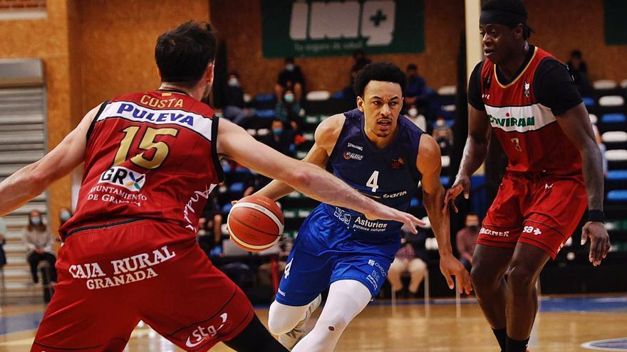 Crónica, vestuarios y comentario de la derrota del Liberbank Oviedo Baloncesto ante el Granada: el OCB cae y ya mira al Coruña
